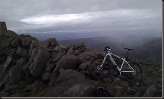 Top of Mount Keen