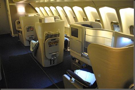 BA upper deck