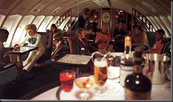 qantas 747 lounge